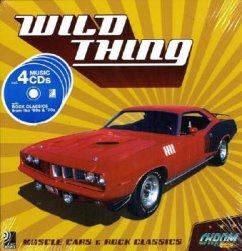 Wild Thing. Buch + 4 CDs