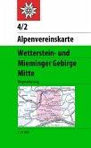 Alpenvereinskarte Wetterstein- und Mieminger Gebirge, Mitte