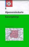 Alpenvereinskarte Kaisergebirge