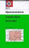 Alpenvereinskarte Stubaier Alpen, Hochstubai, Wegmarkierung