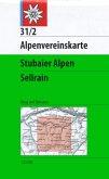 Alpenvereinskarte Stubaier Alpen, Sellrain