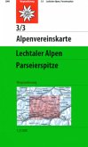 Alpenvereinskarte Lechtaler Alpen, Parseierspitze