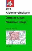 Alpenvereinskarte Ötztaler Alpen, Nauderer Berge