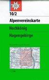 Alpenvereinskarte Hochkönig, Hagengebirge