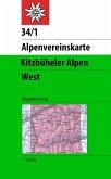 Alpenvereinskarte Kitzbüheler Alpen West