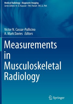 Measurements in Musculoskeletal Radiology - Cassar-Pullicino, Victor N. / Davies, A. Mark (Hrsg.)