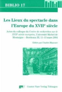 Les Lieux du spectacle - Mazouer, Charles