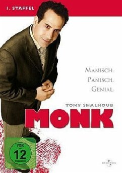 Monk - 1. Staffel (4 DVDs)