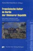 Französische Kultur im Berlin der Weimarer Republik