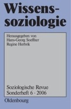 Wissenssoziologie - Soeffner, Hans-Georg / Herbrik, Regine (Hgg.)