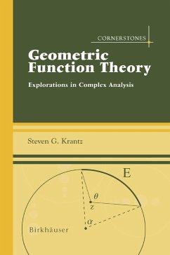 Geometric Function Theory - Krantz, Steven G.
