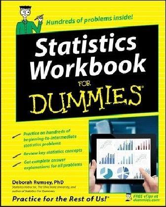 statistic for dummies Statistics for dummies 1st edition pdf download free e-book - by deborah j rumsey statistics for dummies pdf,epub,azw3 free download.