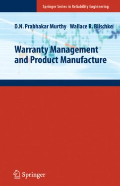 Warranty Management and Product Manufacture - Murthy, Dodderi Narshima Prabhakar;Blischke, Wallace R.