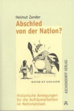 Abschied von der Nation? - Zander, Helmut