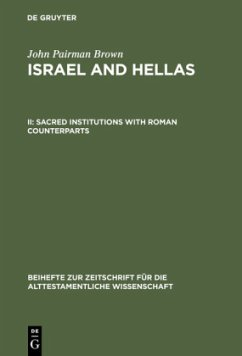 Sacred Institutions with Roman Counterparts - Brown, John Pairman