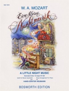 Eine kleine Nachtmusik, leichte Bearbeitung für Klavier