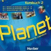 3 Audio-CDs zum Kursbuch / Planet - Deutsch für Jugendliche Bd.2