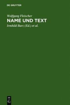 Name und Text