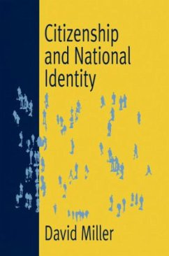 Citizenship and National Identity - Miller, David