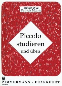 Piccolo studieren und üben