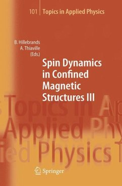 Spin Dynamics in Confined Magnetic Structures III - Hillebrands, Burkard / Thiaville, Andre (eds.)