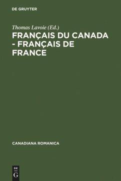Français du Canada - Français de France