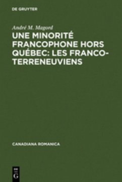 Une minorité francophone hors Québec: Les Franco-Terreneuviens