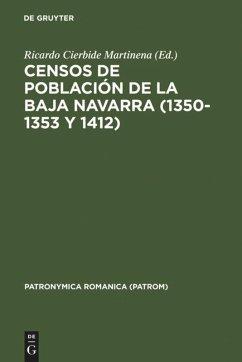 Censos de población de la Baja Navarra (1350-1353 y 1412)
