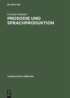 Prosodie und Sprachproduktion