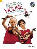 Die fröhliche Violine, m. Audio-CD / Die fröhliche Violine Bd.1, Bd.1