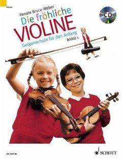 Die fröhliche Violine, m. Audio-CD / Die fröhli...