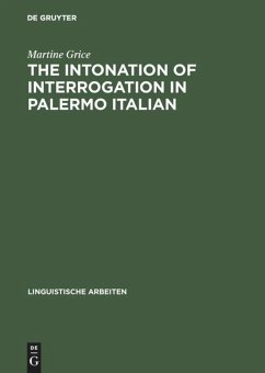 The Intonation of Interrogation in Palermo Italian