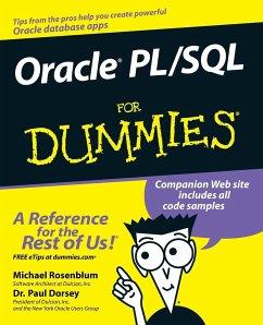 Oracle PL/SQL for Dummies - Rosenblum, Michael; Dorsey, Paul