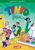 Tinto Arbeitsheft 1 Schreiben. Grüne Ausgabe