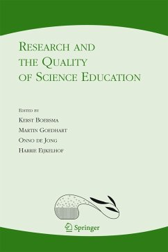 Research and the Quality of Science Education - Boersma, Kerst / Goedhart, Martin / de Jong, Onno / Eijkelhof, Harrie (eds.)
