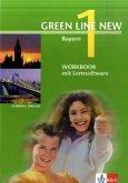Workbook mit CD-ROM, 5. Schuljahr / Green Line New, Ausgabe für Bayern Bd.1