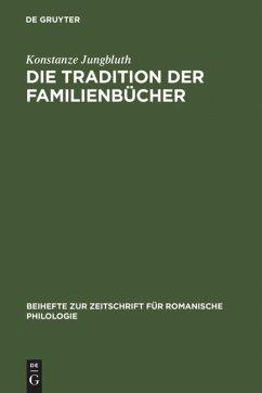 Die Tradition der Familienbücher