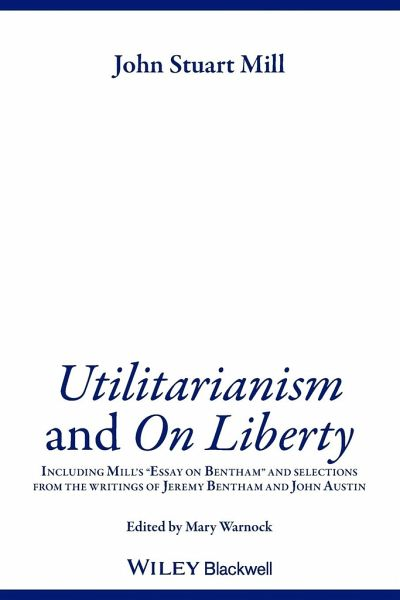 The Greater Good; an Essay on Utilitarianism