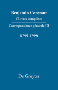 Correspondance 1795-1799