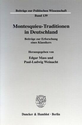 montesquieu traditionen in deutschland von edgar mass paul ludwig weinacht hgg fachbuch. Black Bedroom Furniture Sets. Home Design Ideas