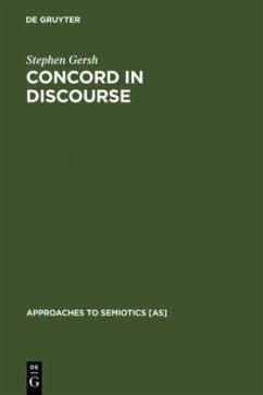 Concord in Discourse - Gersh, Stephen