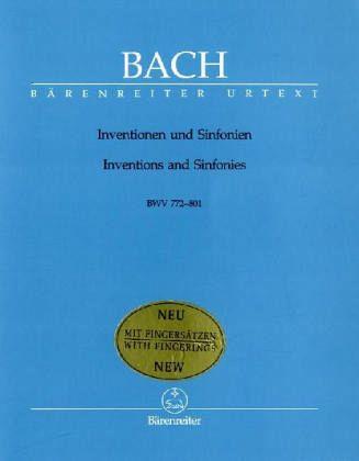Inventionen und Sinfonien BWV 772-801, Klavier - Bach, Johann Sebastian