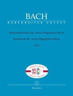 Klavierbüchlein für Anna Magdalena Bach (1725), mit Fingersätzen, Klavier