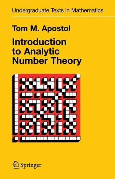 analytic number theory Analytic number theory, modular forms and q-hypergeometric series: in honor of krishna alladi's 60th birthday, university of florida, gainesville, march 2016 (springer proceedings in.