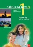 Workbook mit CD-ROM, 1. Lernjahr / Green Line New (E2) Bd.1