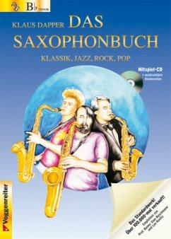 Version Bb (Tenorsaxophon), m. Audio-CD / Das Saxophonbuch Tl.1 - Dapper, Klaus