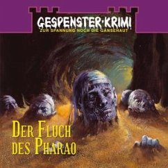 Der Fluch des Pharao, Audio-CD - Collins, Frederik