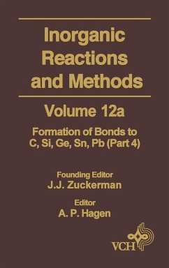 Inorganic Reactions Methods V12A - Zuckerman