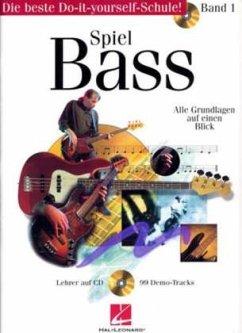 Spiel Bass, m. Audio-CD