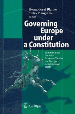 Governing Europe under a Constitution - Blanke, Herm.-J. / Mangiameli, Stelio (eds.)